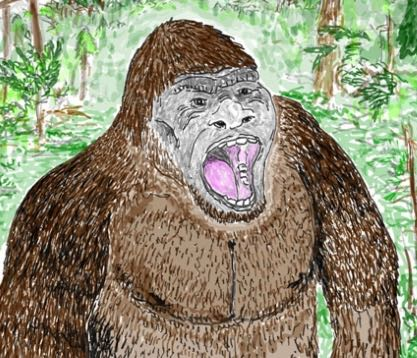 Bigfoot, by Darren Nash, Scientific American