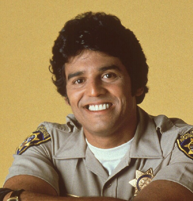 "Erik Estrada as Chips, ""Ponch"""
