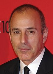 Matt Lauer, TV journalist