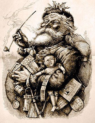 Santa Claus, the Thomas Nast image