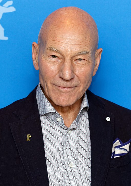 Patrick Stewart, photo by Maximilian Bühn, CC-BY-SA 4.0