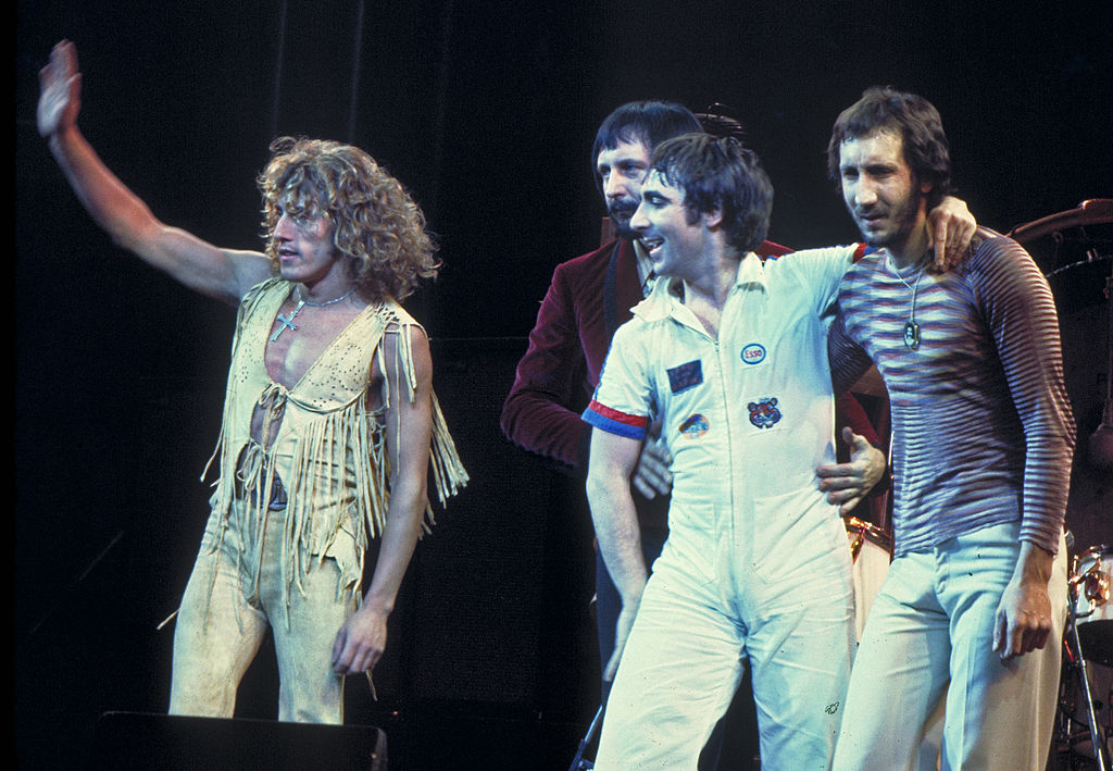 The Who, 1975, Photo by Jim Summaria