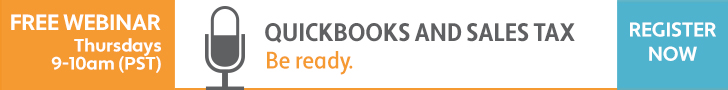 Avalara Webinar: Quickbooks and Sales Tax