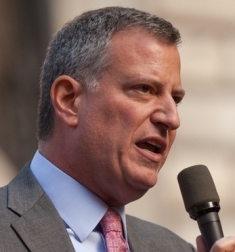 Bill de Blasio, New York City