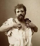 Albert Greiner as Oedipus, 1896